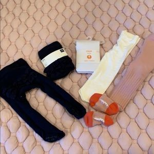 Boden and gap Gymboree tights bundle